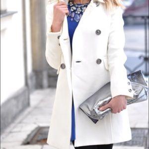Mango Jackets & Coats - NEW Mango white trench coat XS